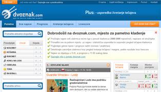 Web stranica - Dvoznak