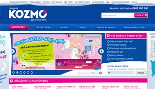 Web stranica - Kozmo