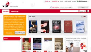 Web stranica - VIP eKnjižara