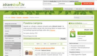 Web stranica - ZdraveStvari