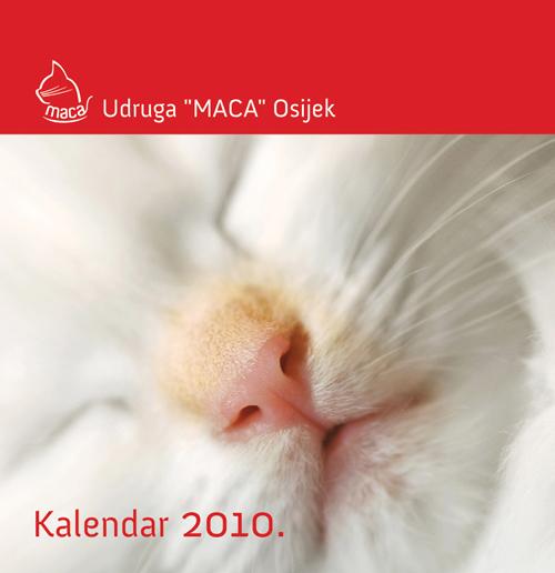 """Kalendar Udruge """"Maca"""" 2010."""