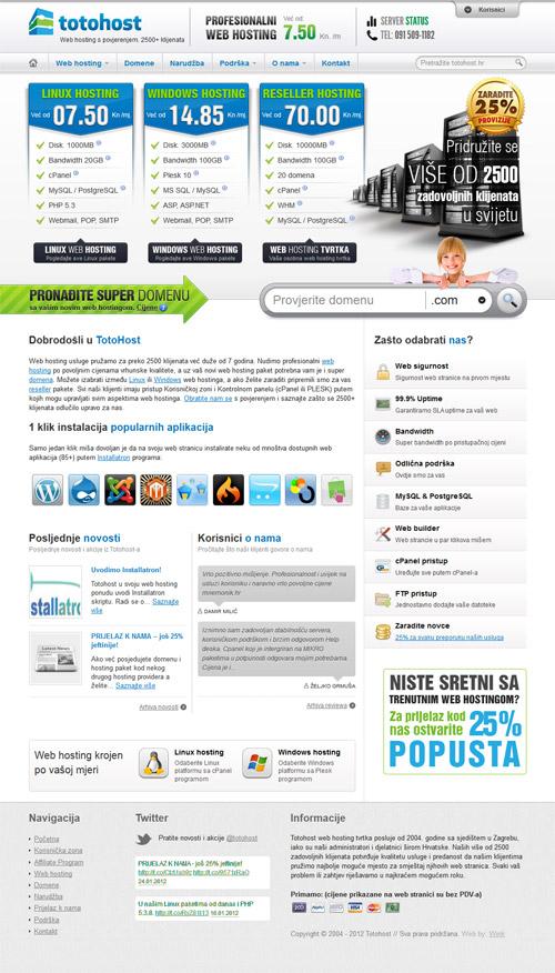 Totohost web hosting