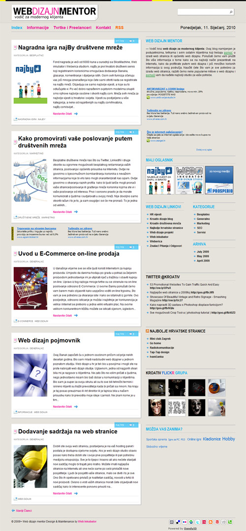 Web dizajn mentor